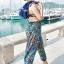 ชุดว่ายน้ำคนอ้วน พร้อมส่ง :ชุดว่ายน้ำไซส์ใหญ่สีดำแต่งลายโบฮีเมียนสีน้ำเงินเขียวสีสันสดใส set 4 ชิ้นมีเสื้อตัวนอก บราตัวใน กางเกงขาสั้น กางเกงขายาว แบบเก๋น่ารักมากๆจ้า:รายละเอียดไซส์คลิกเลยจ้า thumbnail 4