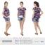 เสื้อให้นม Phrimz : Malee Breastfeeding Top - Purple thumbnail 6