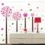 สติกเกอร์ดอกไม้สีชมพู thumbnail 10