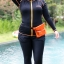 ชุดว่ายน้ำคนอ้วน พร้อมส่ง :ชุดว่ายน้ำสีดำตัดขอบสีส้มซิปหน้า set 5 ชิ้นมีเสื้อแขนยาว บรา กางเกงบิกินี่ด้านใน กางเกงขาสั้น กางเกงขายาว สีสวยแบบเก๋น่ารักมากๆจ้า:รายละเอียดไซส์คลิกเลยจ้า thumbnail 2