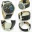 นาฬิกาผู้ชาย Diesel รุ่น DZ1514, Striking Black Dial Black Leather Strap Quartz thumbnail 2