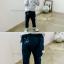 BZ165- เสื้อ+กางเกง 5 ตัว/แพค ไซส์ 90-100-100-110-110 thumbnail 2