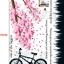 สติกเกอร์ จักรยานใต้ต้นซากุระ thumbnail 2