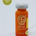 สีสัก Ber Lin - Micro Pigment Cosmetic Color สี Orange Red