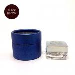 สีตลับ Ber Lin (BL) กล่องฟ้า สี Black Brown