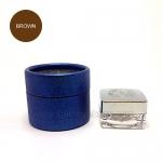 สีตลับ Ber Lin (BL) กล่องฟ้า สี Brown