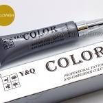 สี Y&Q ชนิดหลอดเงิน สี Yellowish