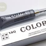 สี Y&Q ชนิดหลอดเงิน สี Skin