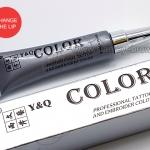 สี Y&Q ชนิดหลอดเงิน สี Change The Lip