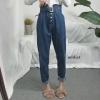 กางเกงยีนส์เอวสูงแฟชั่น