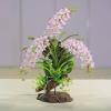 D00068 ดอกไม้ประดิษฐ์จากดินไทย R and N Handmad