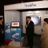 ผู้อำนวยการสำนักพัฒนาสังคมเยี่ยมชมบูธสินค้าในงานรับใบประกาศผลิตภัณฑ์Bangkok Brand