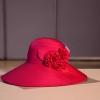 C03010 หมวกผ้าดวงเดือน งานประดิษฐ์จากผ้า