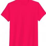 เสื้อยืดสีพื้น คอกลม สีบานเย็น