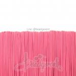 ยางยืด เส้นกลม 1.5มม. สีชมพูหวาน 1.5มม. (144 หลา)