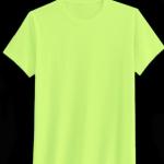 เสื้อยืดสีพื้น คอกลม สีเขียวอ่อน