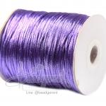 เชือกหางหนู 2มม. สีม่วงสว่าง (100 หลา)