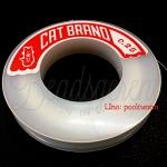 เอ็นตราแมว เบอร์0.25 สีใส (100 เมตร)