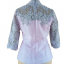 C02024 เสื้อผ้าไหมปักฉลุ สุนิสา