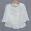 C02014 เสื้อผ้าไหมร้านสตรี ลีนอย
